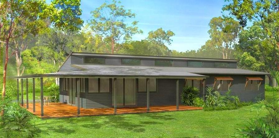 Casa sencilla de 3 dormitorios con cochera