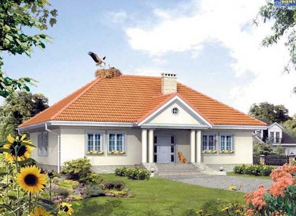 Plano de casa de 13m x 16 m