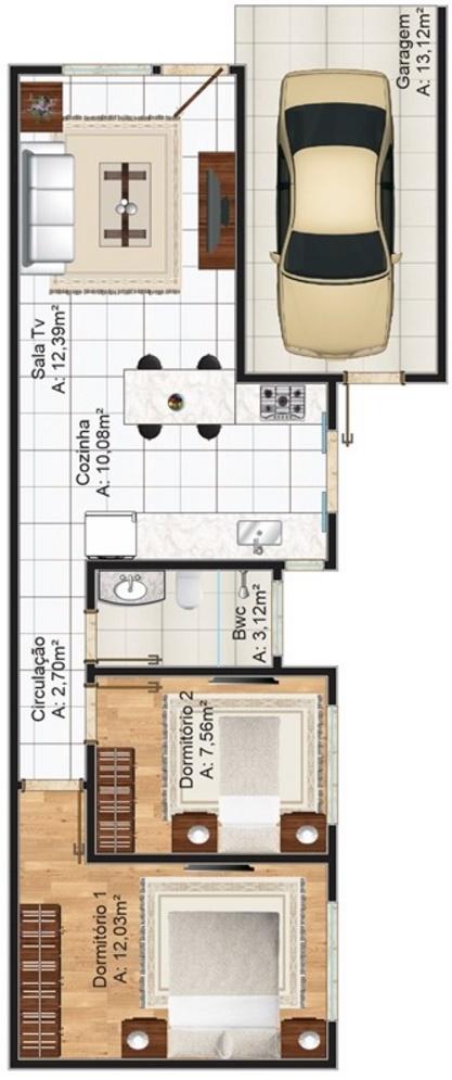 planos de casas de 70 metros cuadrados planos y casas