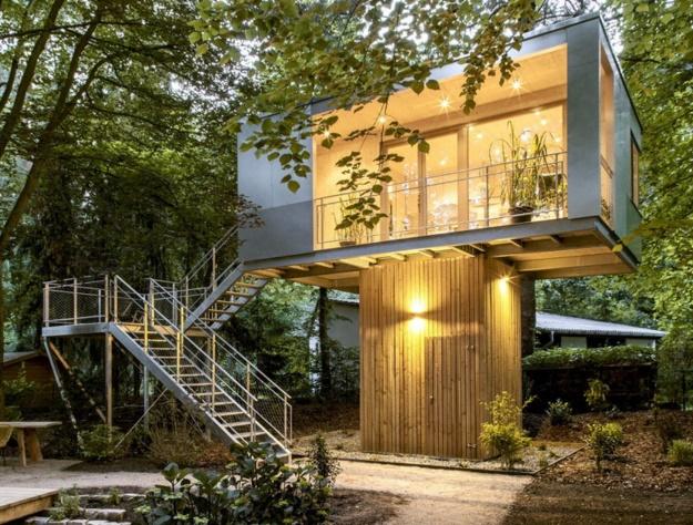 Plano de casa en el arbol - Casas en arboles para ninos ...
