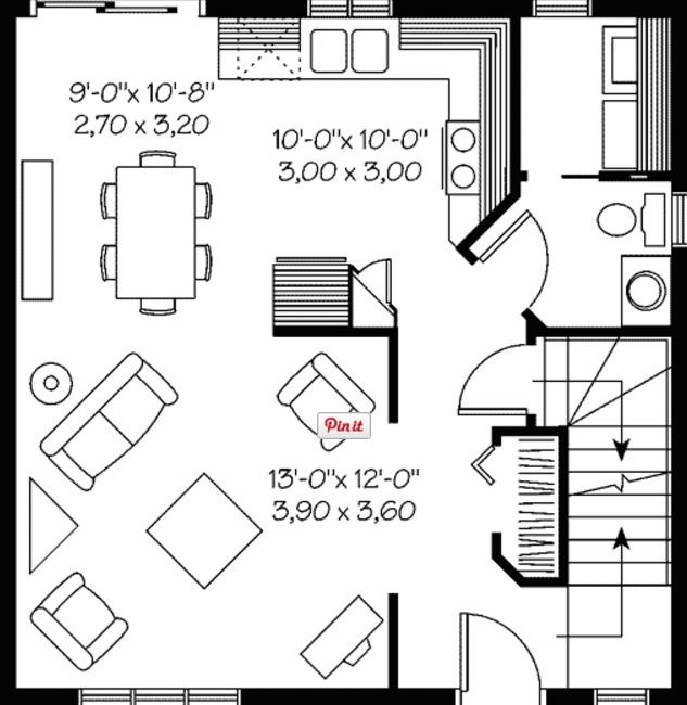 casa de 110 metros cuadrados