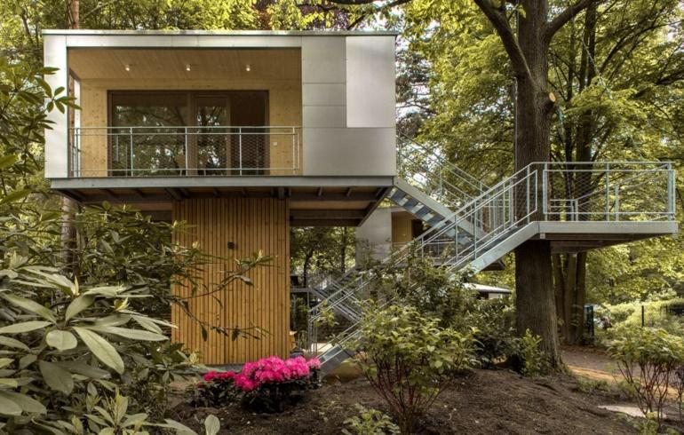 Plano de casa en el arbol - Casas en el arbol ...