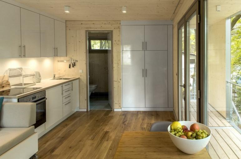 cocina de casa de arbol