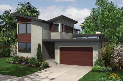 Casa de 2 pisos con garaje for Casas en garajes
