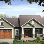 Plano de casa de 3 dormitorios y cochera doble