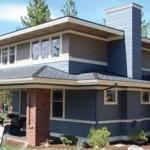 Casa de estilo tradicional