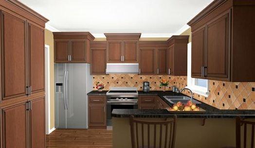 Cocina de casa de 3 dormitorios