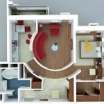 Diseños de apartamentos