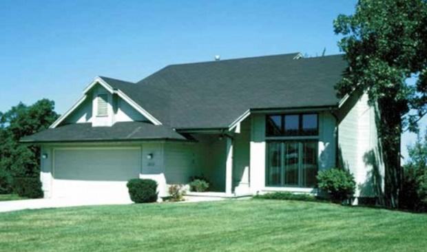Plano de casa con techo a una agua - Techos ligeros para casas ...
