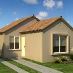 Modelo de casa de 3 dormitorios