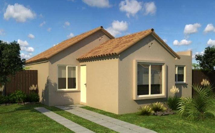 Modelo de casa de 3 dormitorios for Planos de pisos de 3 dormitorios