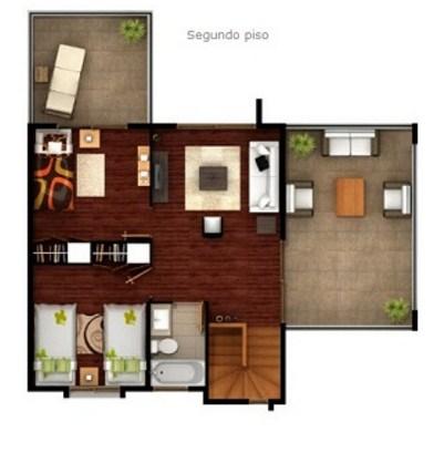 Plano de casa minimalista de dos pisos - Planos de casas minimalistas ...