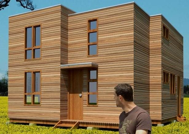 planos de casas de dos pisos en madera