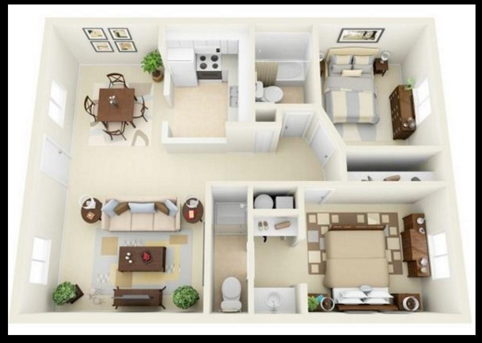 Planos de apartamentos