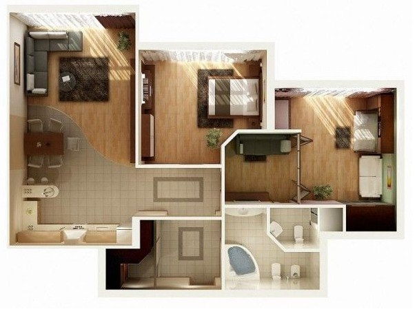 Planos de casas irregulares