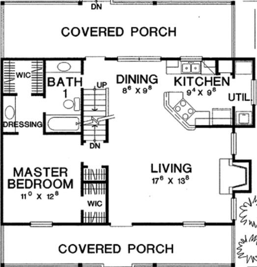 casa de 3 dormitorios y 2 pisos
