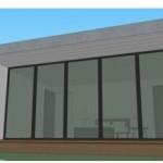 Plano de casa de 55 metros cuadrados