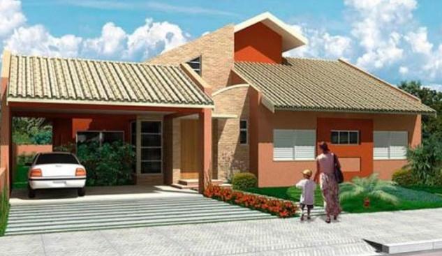 casa de 90 m2 y 3 dormitorios