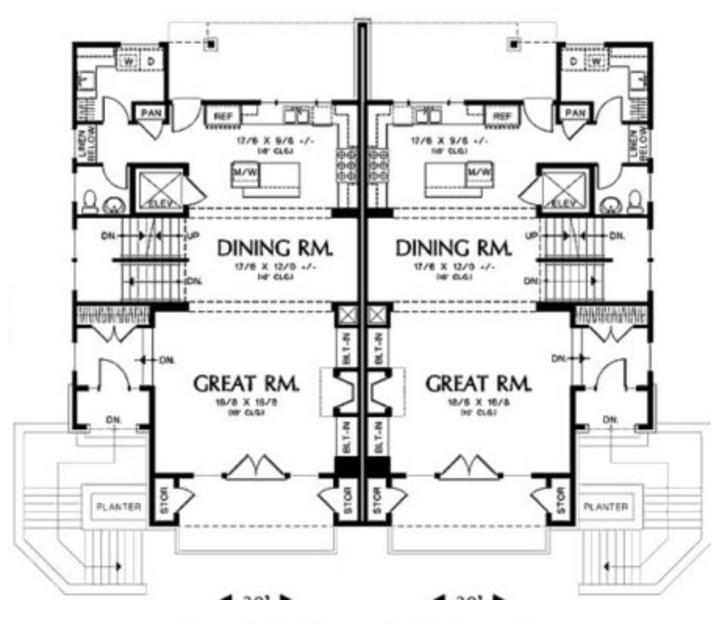 condominio de 3 pisos