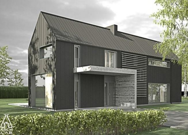 Casa de 3 dormitorios estilo granero