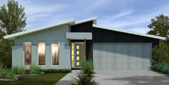 Plano de casa de tres dormitorios y cochera doble for Casa 3 dormitorios
