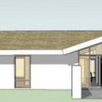 Casa sencilla y amplia de un piso