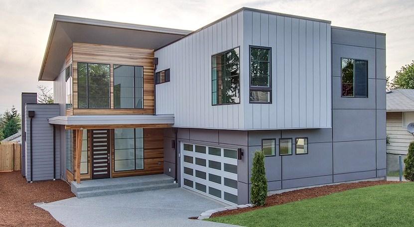 5 dormitorios for Planos de viviendas modernas