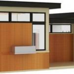 Plano de casa minimalista y bonita