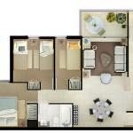 Modelos de departamentos para construir