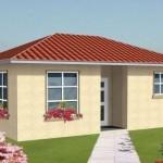 Plano de casa pequeña y económica
