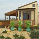 Plano de casa de playa