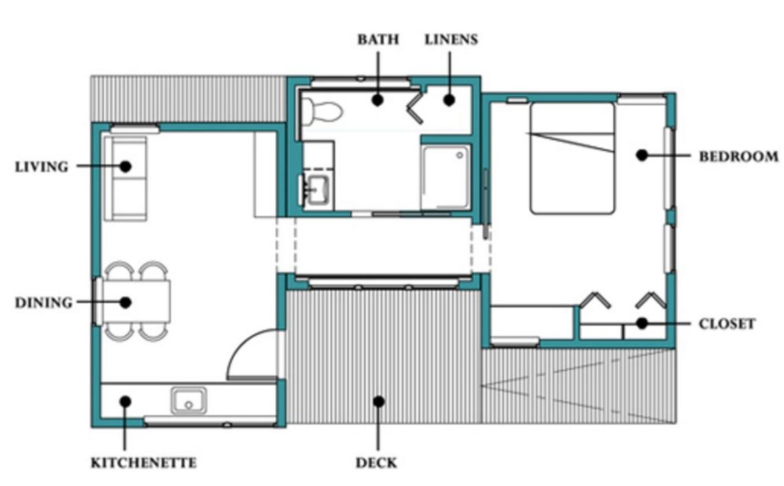 Plano de casa minimalista y bonita for Casas minimalistas planos