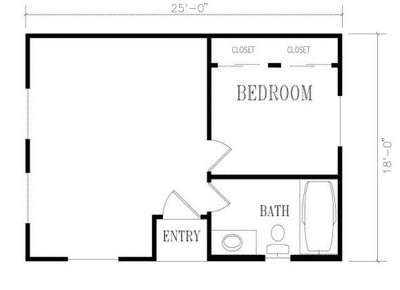 Plano de casa pequeña y economica