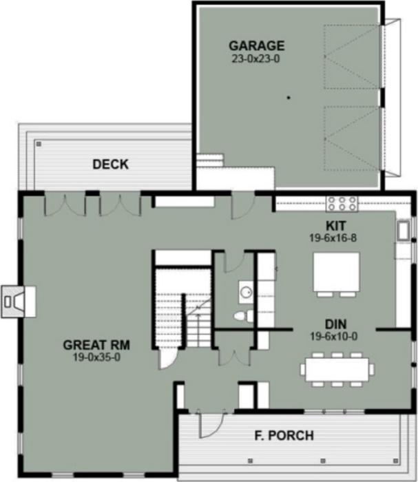 planos de casas tipo a