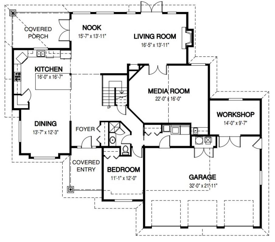 Planos y diseños de casas 3