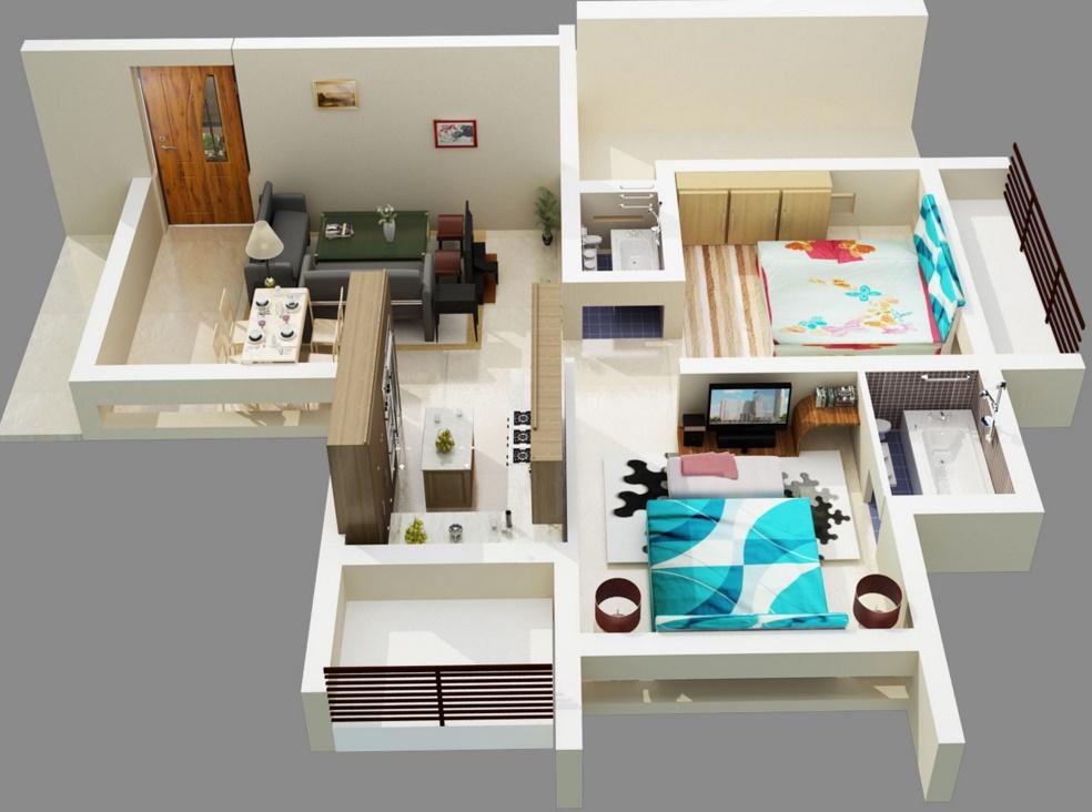 Casas y planos for Ver planos de casas
