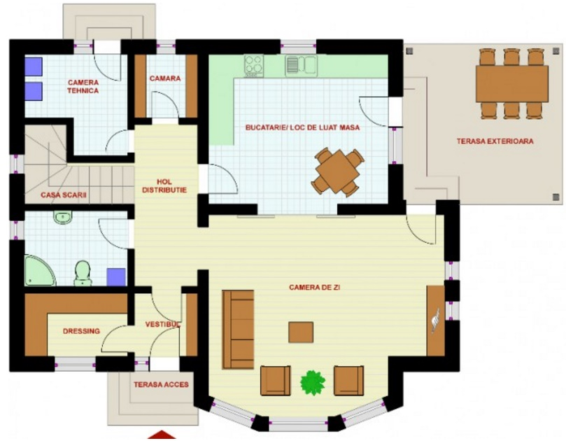 ver planos casas modernas