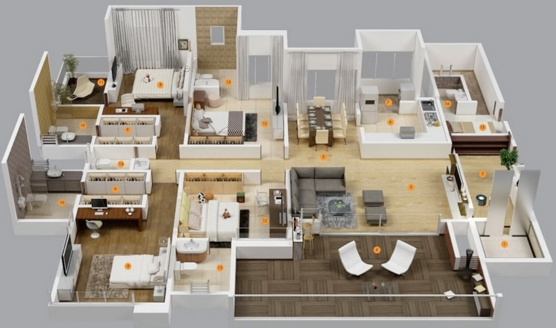 1 Room Apartment For Rent Near Me