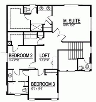 Vivienda unifamiliar moderna con 2 pisos y 2 dormitorios
