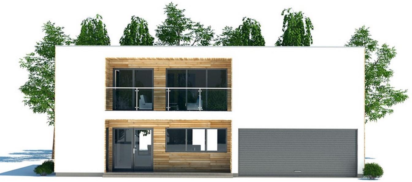 casa moderna con 2 cocheras y 3 dormitorios