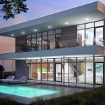 Moderna casa vidriada 3 dormitorios