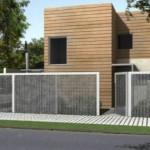 Casa moderna de 3 dormitorios construida en 2 pisos