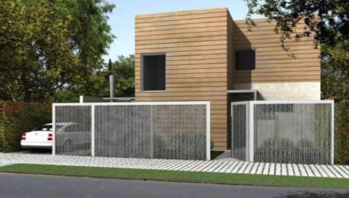 Casa moderna planos