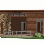 Modelo de casa de 350 metros cuadrados en 1 piso