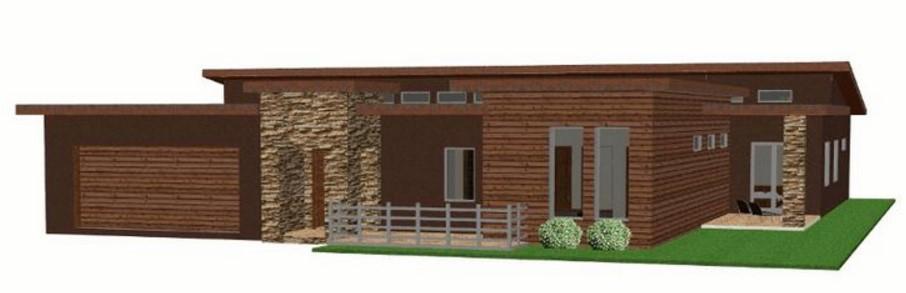 Modelo de casa de 350 metros cuadrados en 1 piso for Piso 60 metros cuadrados