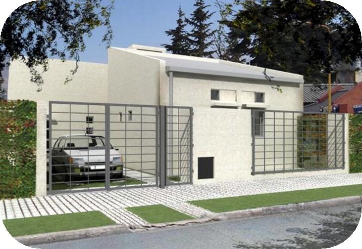 Modelo de vivienda unifamiliar de 70 metros cuadrados