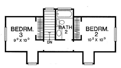 Modelos de casas campestres de 3 dormitorios