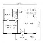 Plano de casa colonial moderna de 70 metros cuadrados