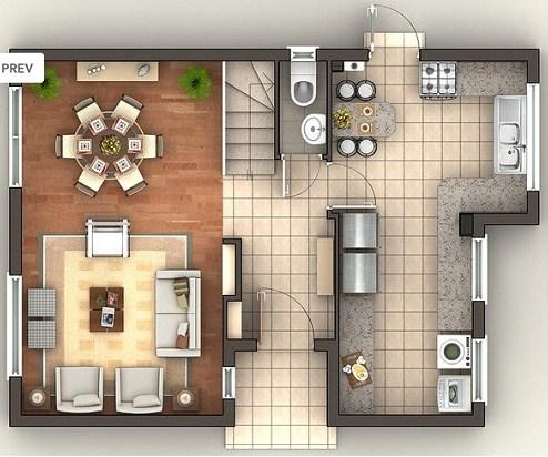 planos de casas de dos pisos de 200m2