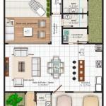 Planos de casas con cochera techada
